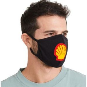 USA Made 3 Layer Screen printed Cotton Face Mask, quick ship